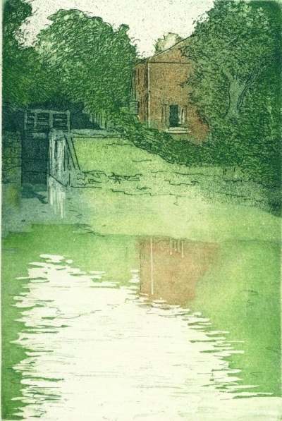 Lock House, Oxenhall_copyright David T. Bowyer